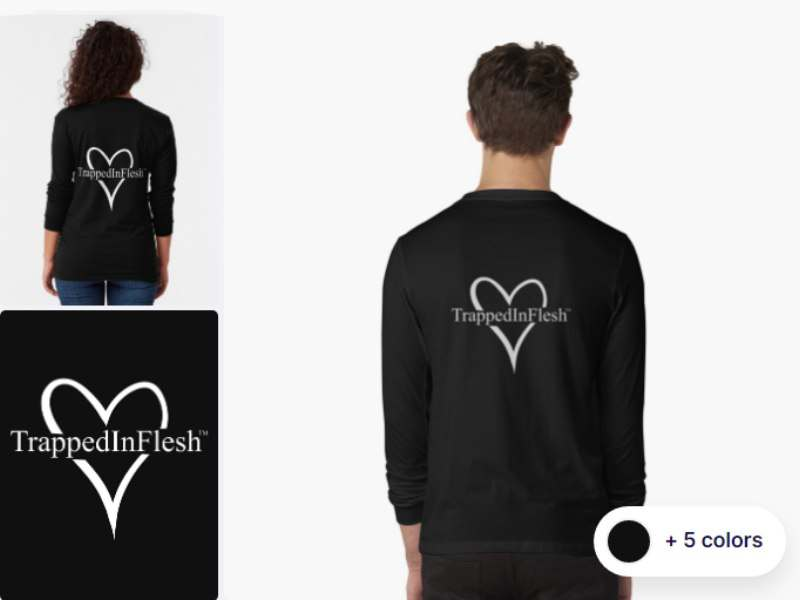 1_TrappedInFlesh™-Long-Sleeve-T-Shirt