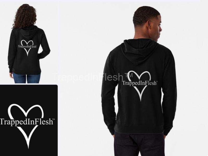 TrappedInFlesh™-Lightweight-Hoodie