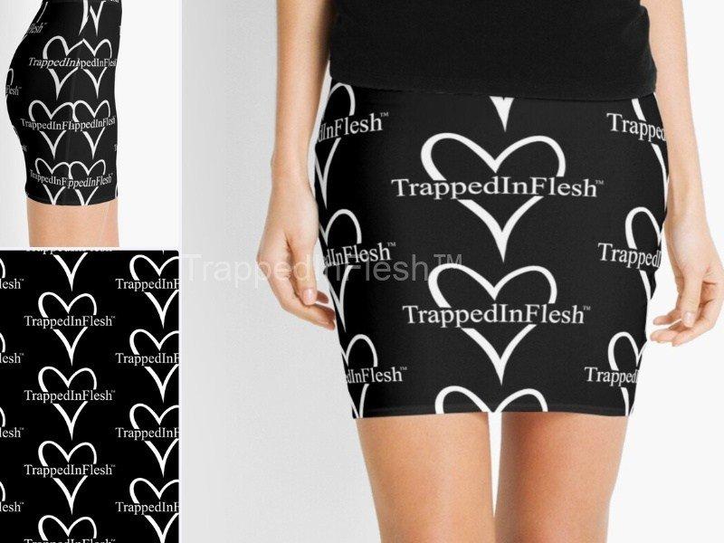 TrappedInFlesh™-Mini-Skirt