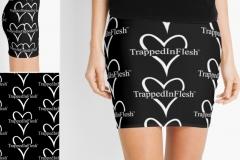 1_TrappedInFlesh™-Mini-Skirt