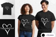 Redbubble_TrappedInFlesh™-Classic-T-Shirt