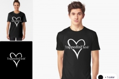 Redbubble_TrappedInFlesh™-Graphic-T-Shirt