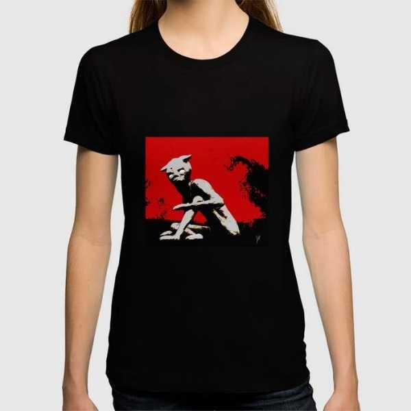 Parasite_TrappedInFlesh_womensfittedTshirt_society6