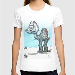 Turdle_TrappedinFlesh_society6_Tshirt