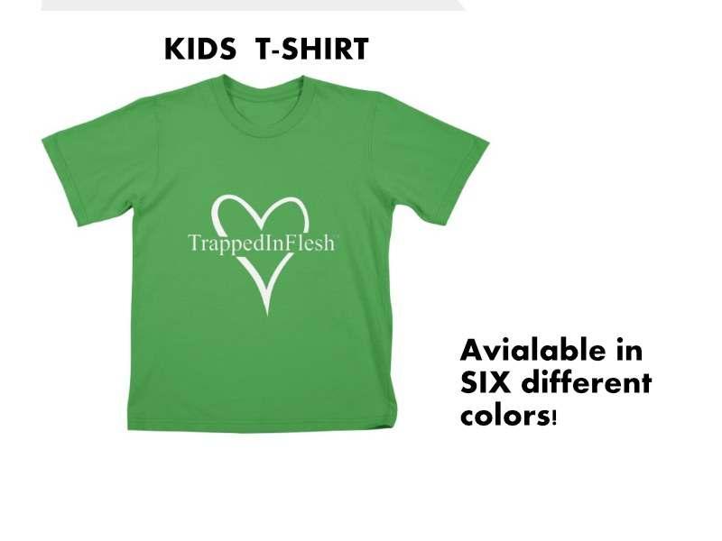 TrappedInFlesh_KidsTshirt_threadless