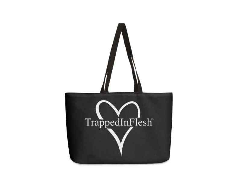 TrappedInFlesh_WeekenderBag_Threadless