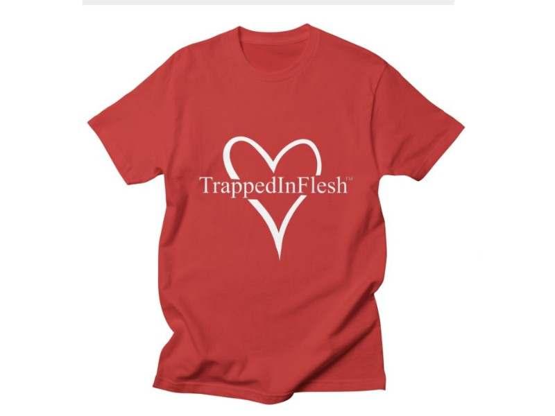 TrappedInFlesh_tshirt_red_Threadless